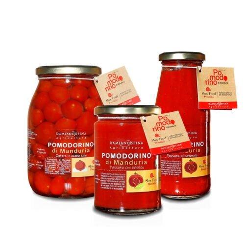 Pomodorino di Manduria Presidio Slow Food